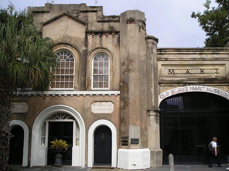 Charleston-slave market